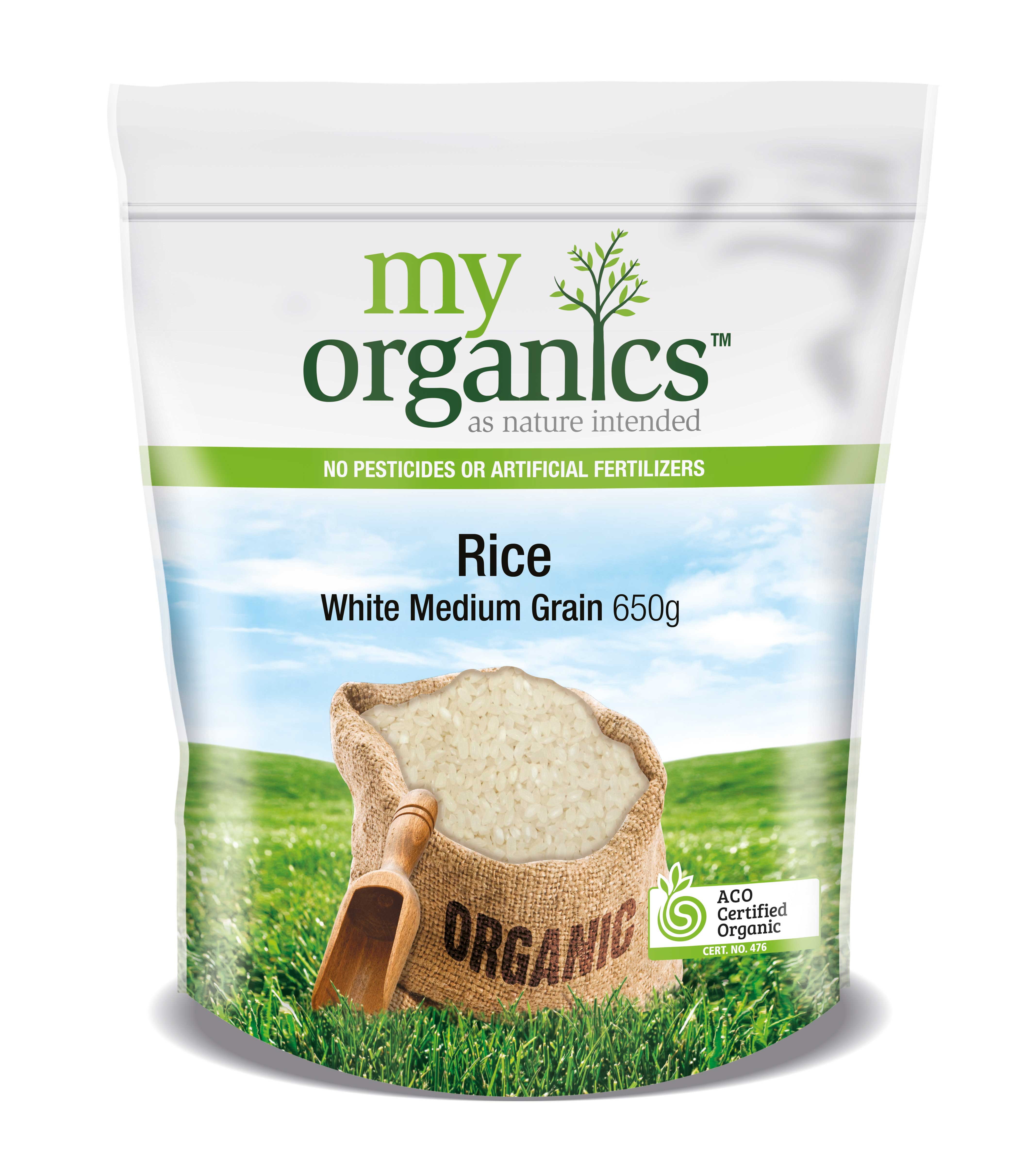 Rice White Medium