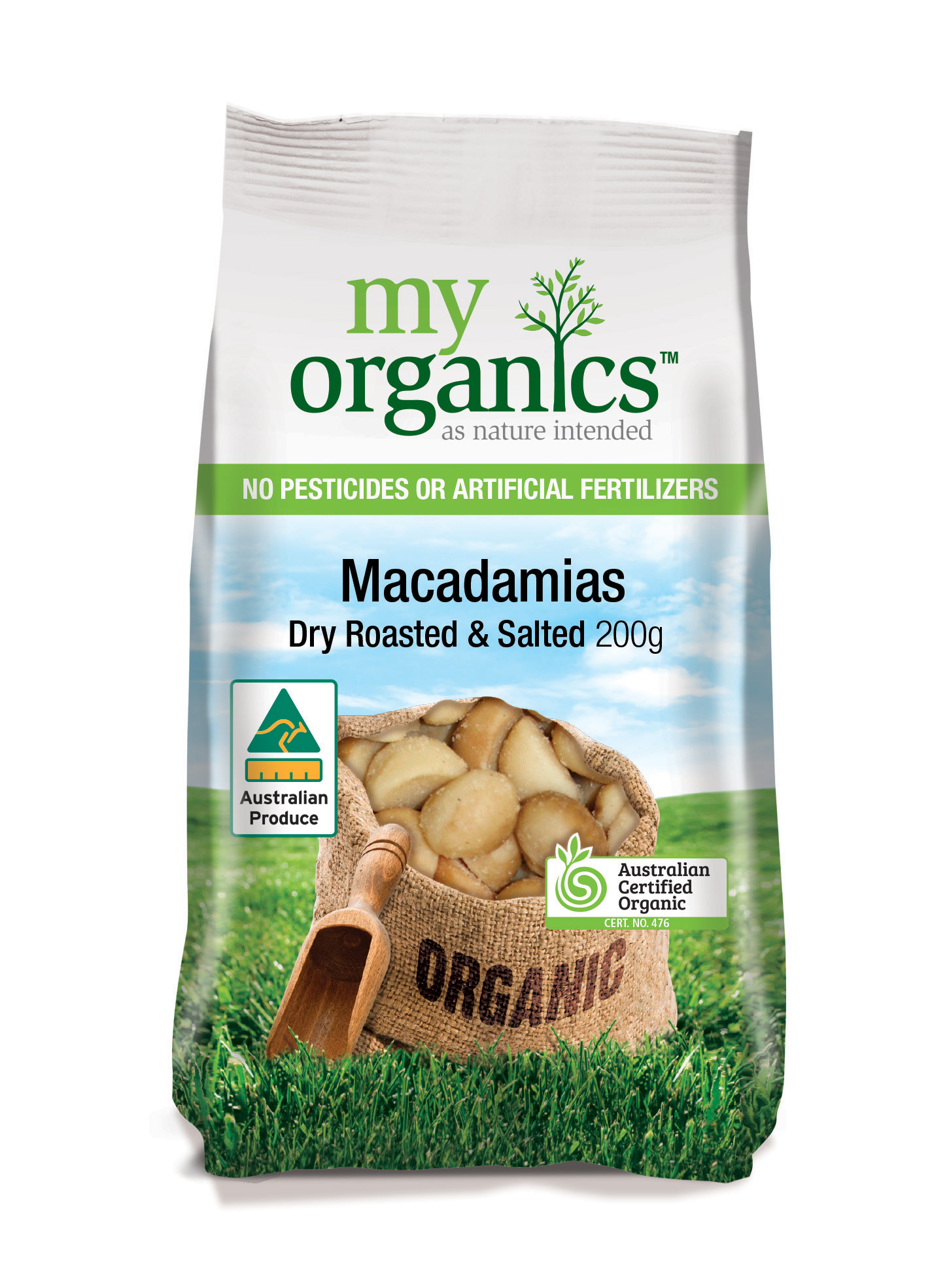 Macadamias Australian Dry Roasted & Salted