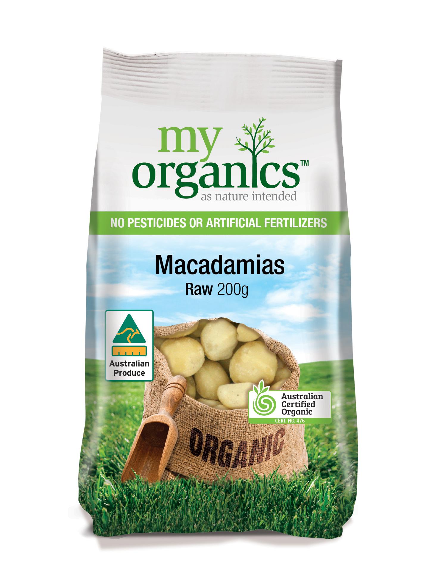 Macadamias Australian Raw