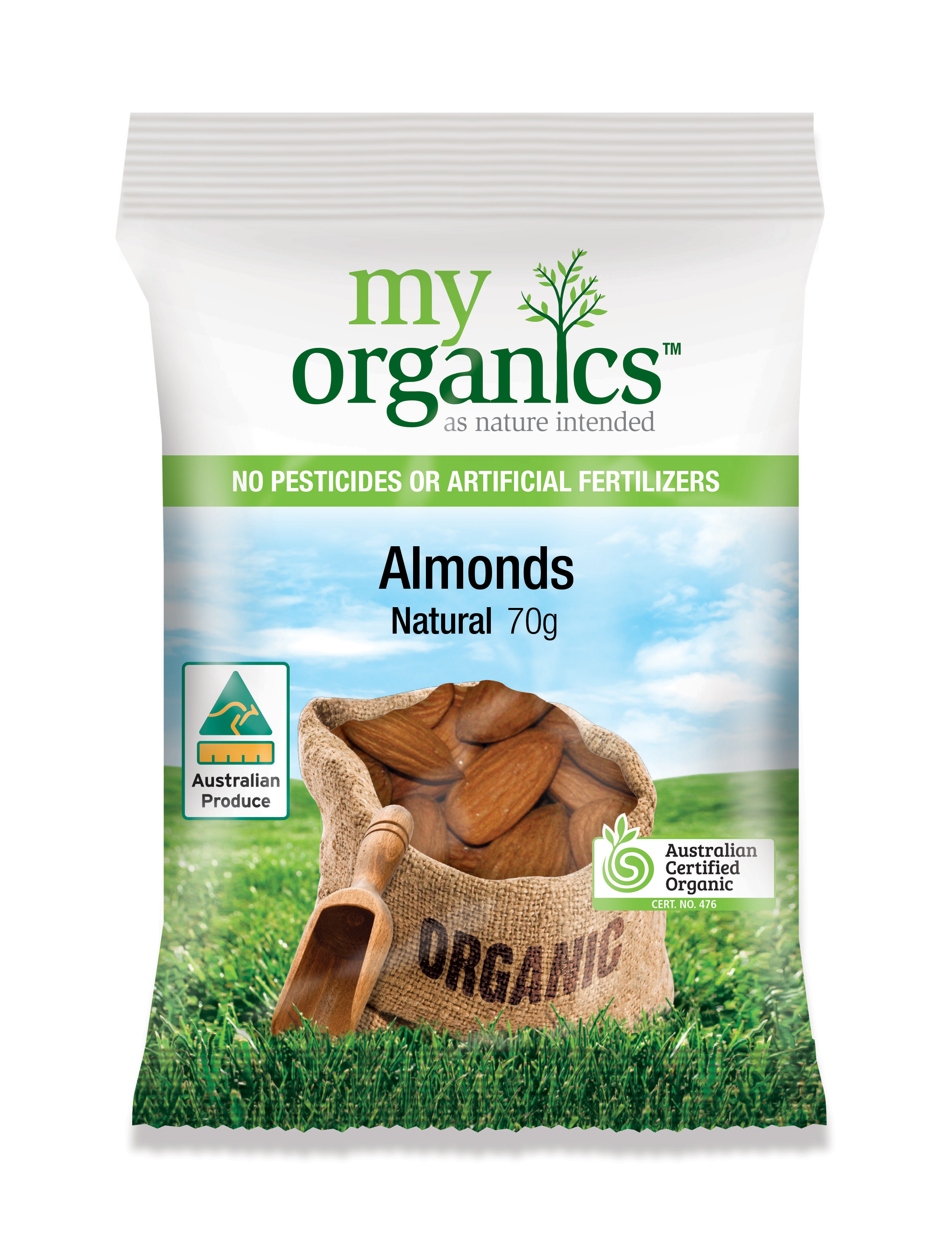 Natural Australian Almonds