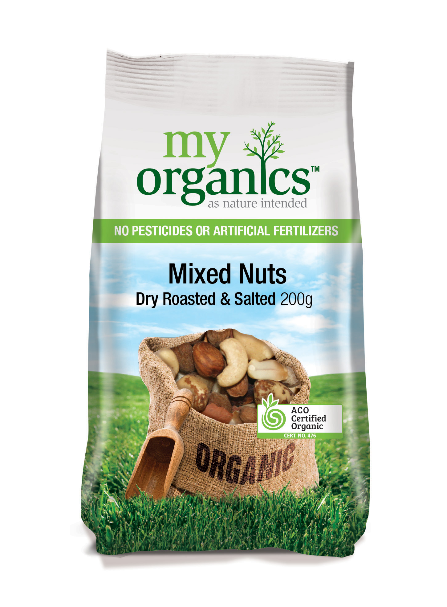 Mixed Nuts Dry Roasted & Salted