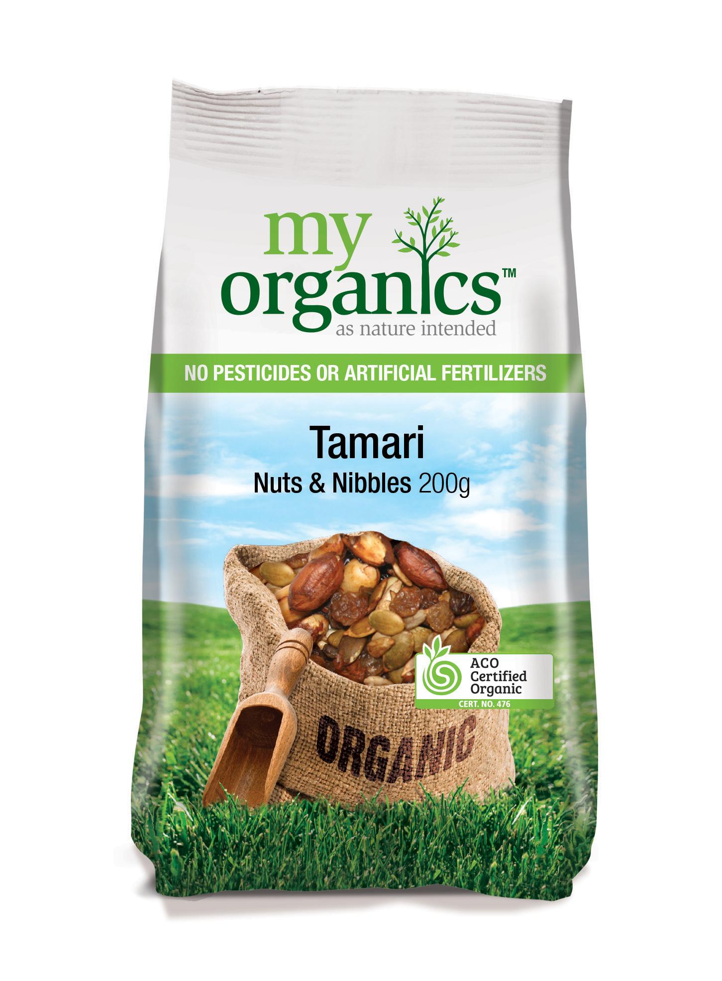 Tamari Nuts and Nibbles