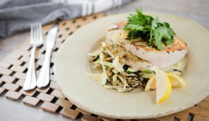 Mediterranean Stuffed Swordfish - My Organics