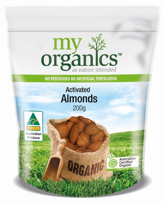 Almonds Activated
