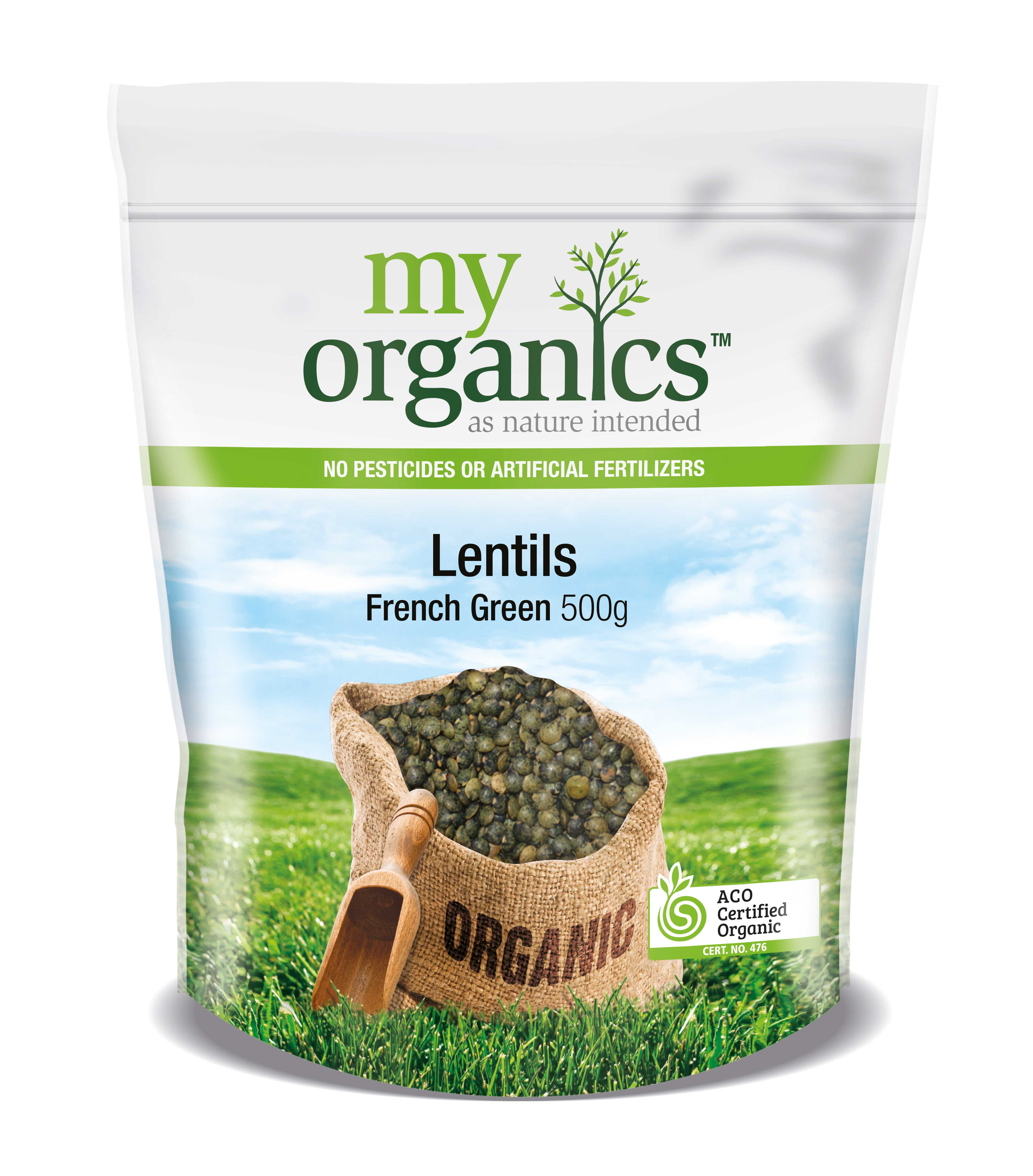 Lentils French Green